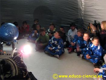Astronomía Para Niños Mi Planetario Escolar Planetario Móvil O Portátil Para Eduación Primaria Todos Los Ciclos Motivación Para La Ciencia
